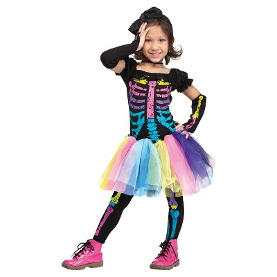 Toddler Funky Punky Bones Halloween Costume