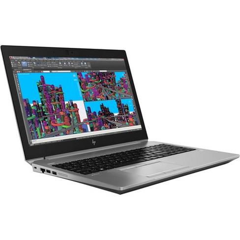 "HP ZBook 15 G5 15.6"" Mobile Workstation - 1920 x 1080 - Xeon E-2176M - 16 GB RAM - 512 GB SSD - Turbo Silver - Windows 10 Pro 64-bit - image 1 of 4"