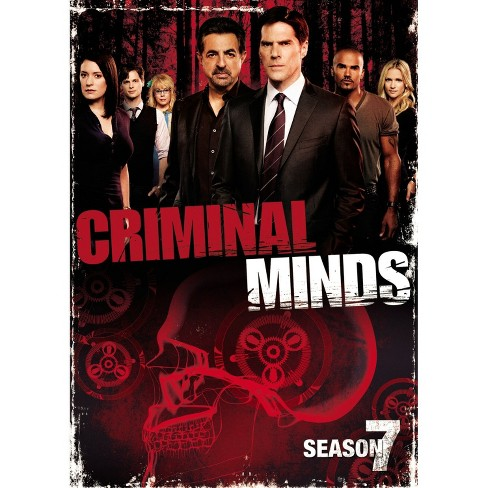Criminal Minds: The Seventh Season (6 Discs) (dvd_video) - image 1 of 1