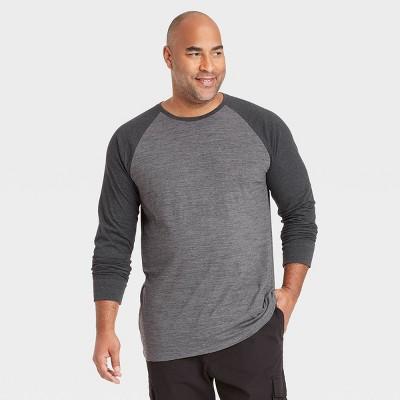 Men's Regular Fit Crewneck Long Sleeve T-Shirt - Goodfellow & Co™