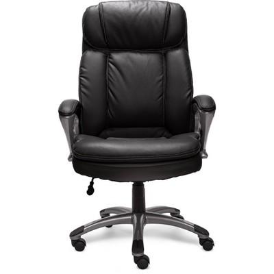 Big & Tall Executive Chair Black - Serta