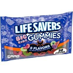 Life Savers Big Ring Halloween Gummies - 9.87oz / 30ct