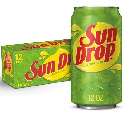 Sun Drop Citrus Soda - 12pk/12 fl oz Cans