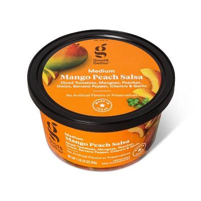 Mango Peach Salsa - Medium Heat - 16oz - Good & Gather™
