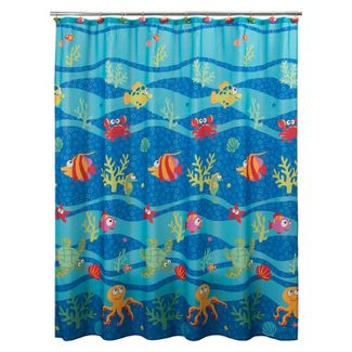 Fishtails Shower Curtain - Allure Home Creations