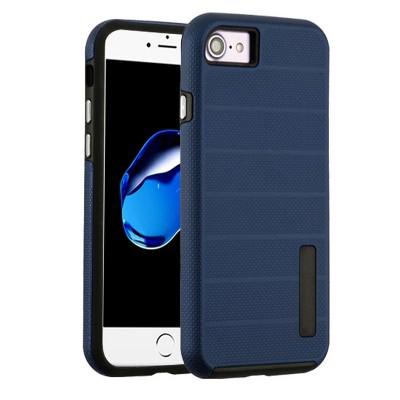 MYBAT Dots Textured Fusion Hard TPU Hybrid Case Cover For Apple iPhone