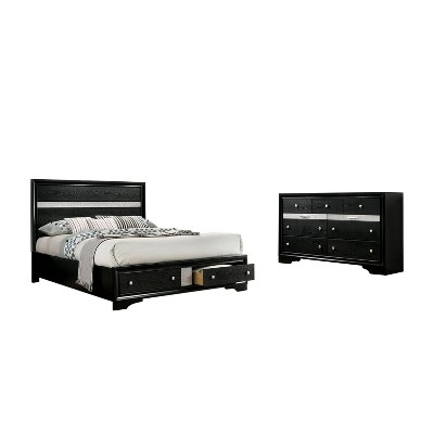 2pc Whether by Bed and Dresser Set - miBasics