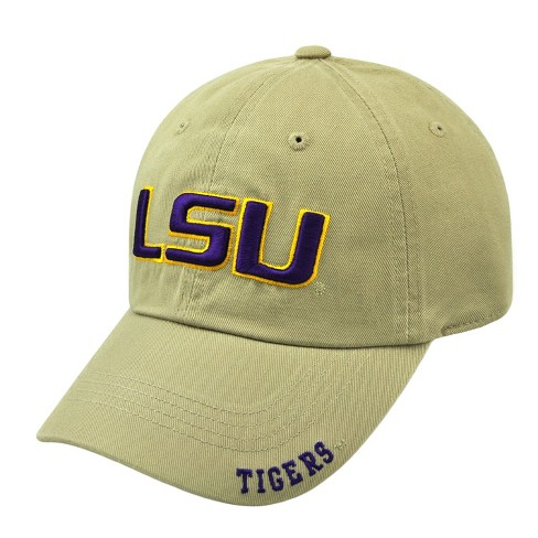 buy online 2a4e9 13627 NCAA LSU Tigers Frater Adjustable Baseball Hat   Target
