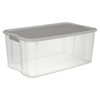 Sterilite® utility bins, bags and totes Clear