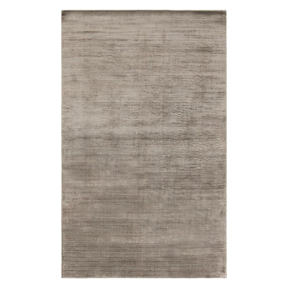 9'X12' Solid Area Rug Graphite (Grey) - Safavieh