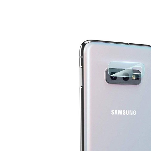 Insten Tempered Glass Lens Protector Compatible With Samsung Galaxy S10e - image 1 of 1