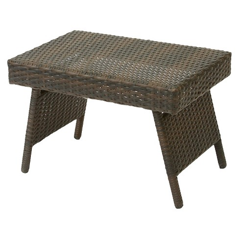 M Wicker Adjule Folding Patio Table Christopher Knight Home