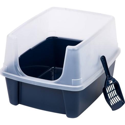 IRIS Open Top Cat Litter Box - image 1 of 4
