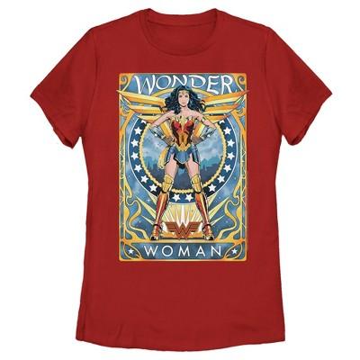 Women's Wonder Woman 1984 Trading Card T-Shirt