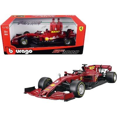 "Ferrari SF1000 #5 Sebastian Vettel Tuscan GP Formula One F1 (2020) ""Ferrari's 1000th Race"" 1/18 Diecast Model Car by Bburago"