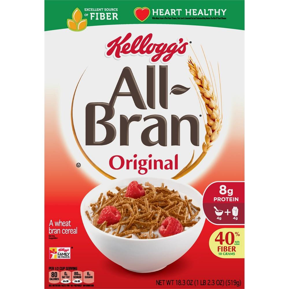 All-Bran Original Breakfast Cereal - 18.3oz - Kellogg's