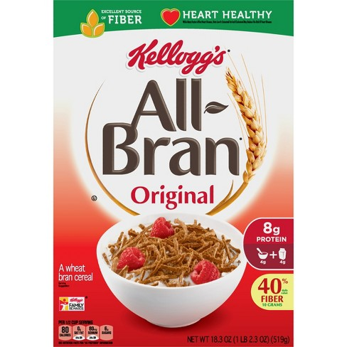 All-Bran Original Breakfast Cereal - 18.3oz - Kellogg's - image 1 of 7