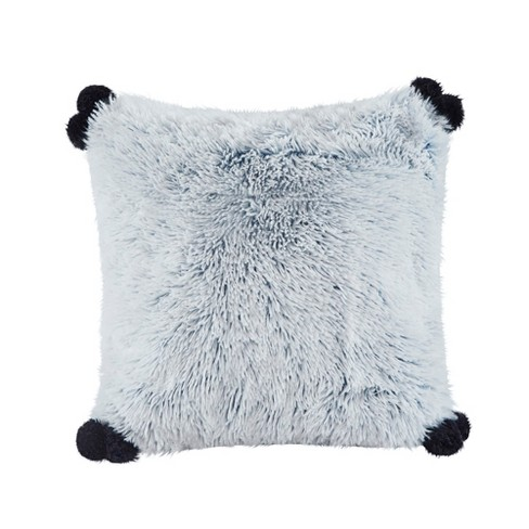 20''x20'' Maddie Shaggy Faux Fur Pillow - image 1 of 3
