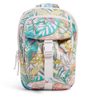 Vera Bradley Women's Recycled Cotton Utility Sling Backpack