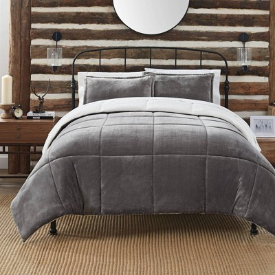 Serta Cozy Plush Comforter Set