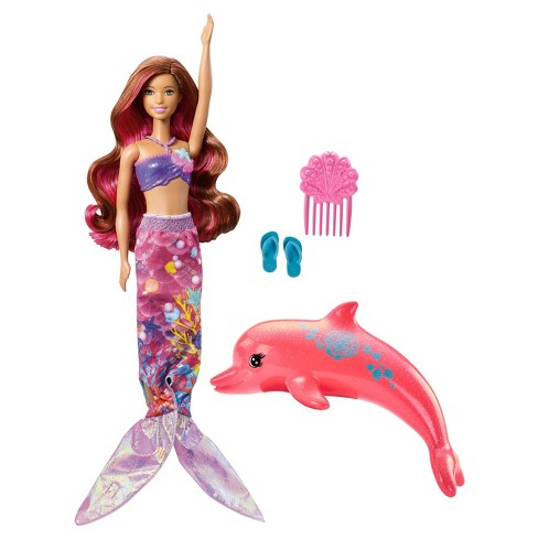 Barbie® Dolphin Magic Transforming Mermaid Doll - image 1 of 13