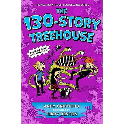 The 130-Story Treehouse - (Treehouse Books) by  Andy Griffiths (Hardcover)