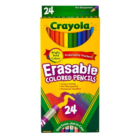 Crayola® Erasable Colored Pencils 24ct - image 1 of 4