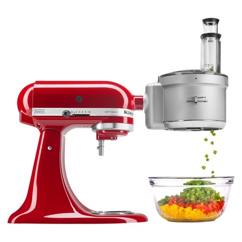 Kitchenaid Refurbished Stand Mixer Attachment Food Processor With Dicing Kit Gray Rksm2fpa