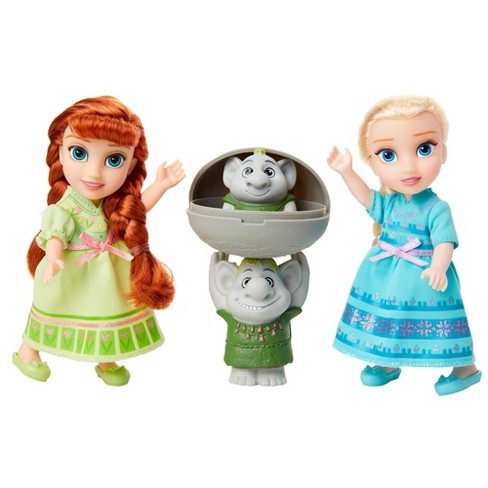 Disney Frozen 2 Petite Surprise Trolls Gift Set - image 1 of 4