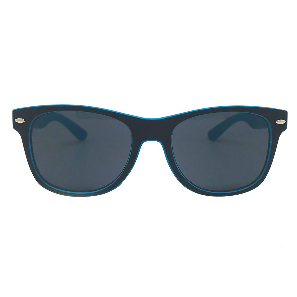 Boys' Wayfarer Sunglasses - Cat & Jack Blue One Size, Black