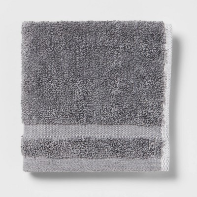 Solid Washcloth Dark Gray - Made By Design™