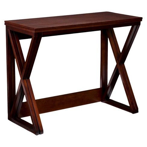 Expandable Counter Height Table - Coffee - Aiden Lane
