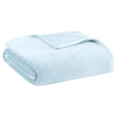 Ultra Premium Plush Blanket (Full/(Queen)Blue