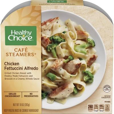 Healthy Choice Frozen Cafe Steamer Chicken Fettuccine Alfredo - 10oz