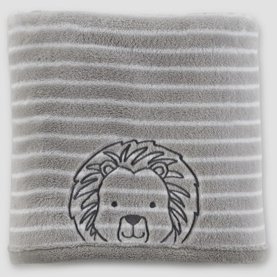 Baby Boys' Fluffy Lion Blanket - Just One You® made by carter's Gray One Size