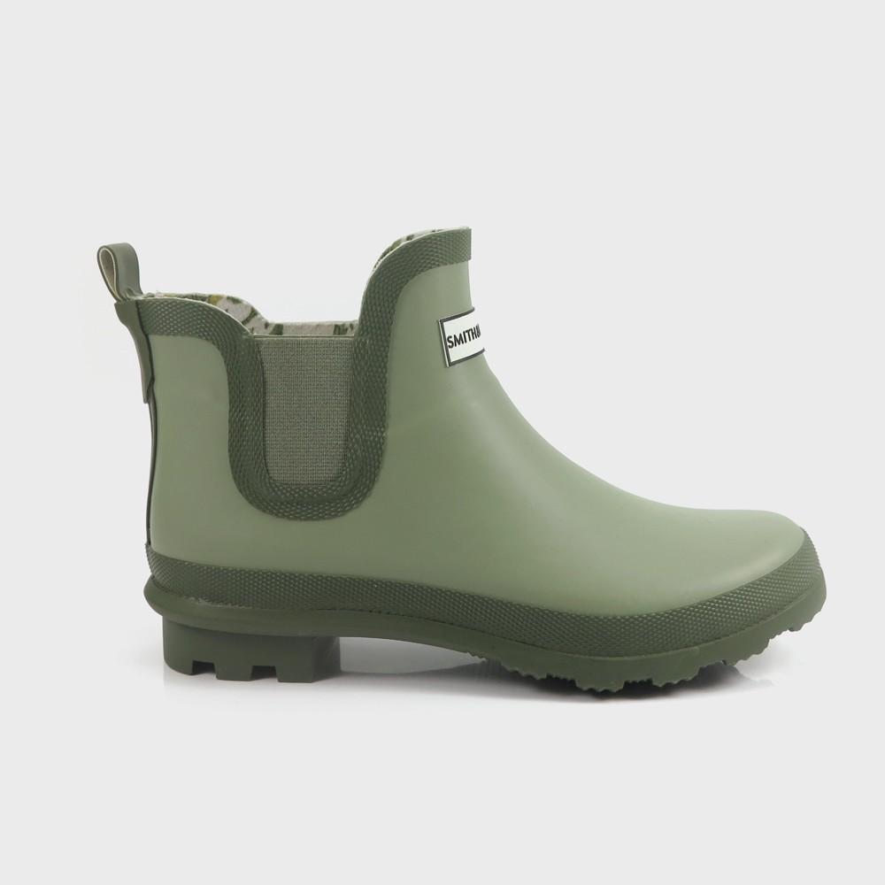 Women's Short Garden Boots Green 9 - Smith & Hawken