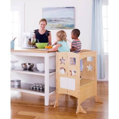Kids' Classic Kitchen Helper Stool Double - Guidecraft