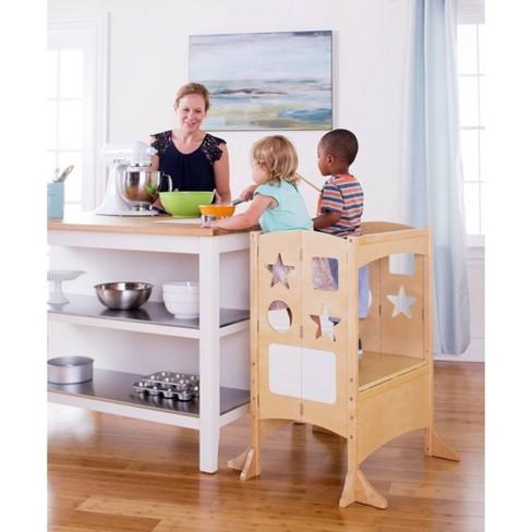 Kids Classic Kitchen Helper Stool Double Guidecraft Target