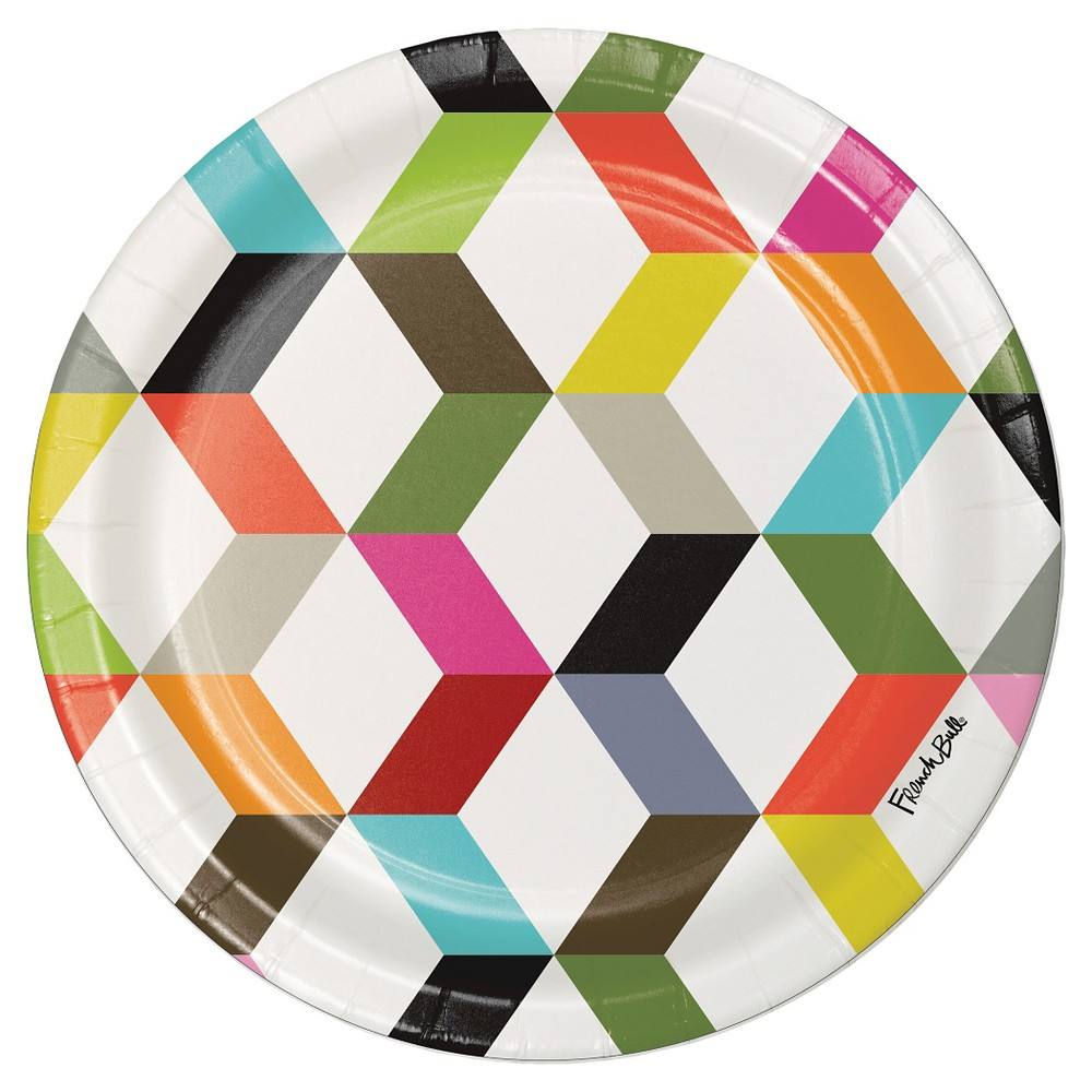 Ziggy by French Bull 7 Dessert Plates - 10ct