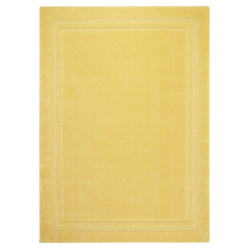 "Lisbon Border Accent Rug - Gold (2'6""x4') - image 1 of 2"