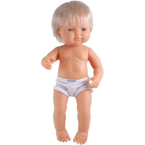 Miniland Multi-Ethnic Doll, Caucasian Boy, 15 Inches - image 1 of 2
