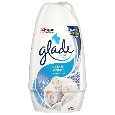Glade Clean Linen Solid Air Freshener - 6oz