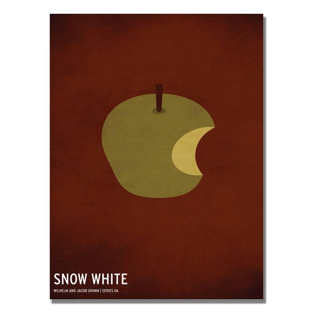 16 34 X 24 34 Snow White By Christian Jackson Trademark Fine Art