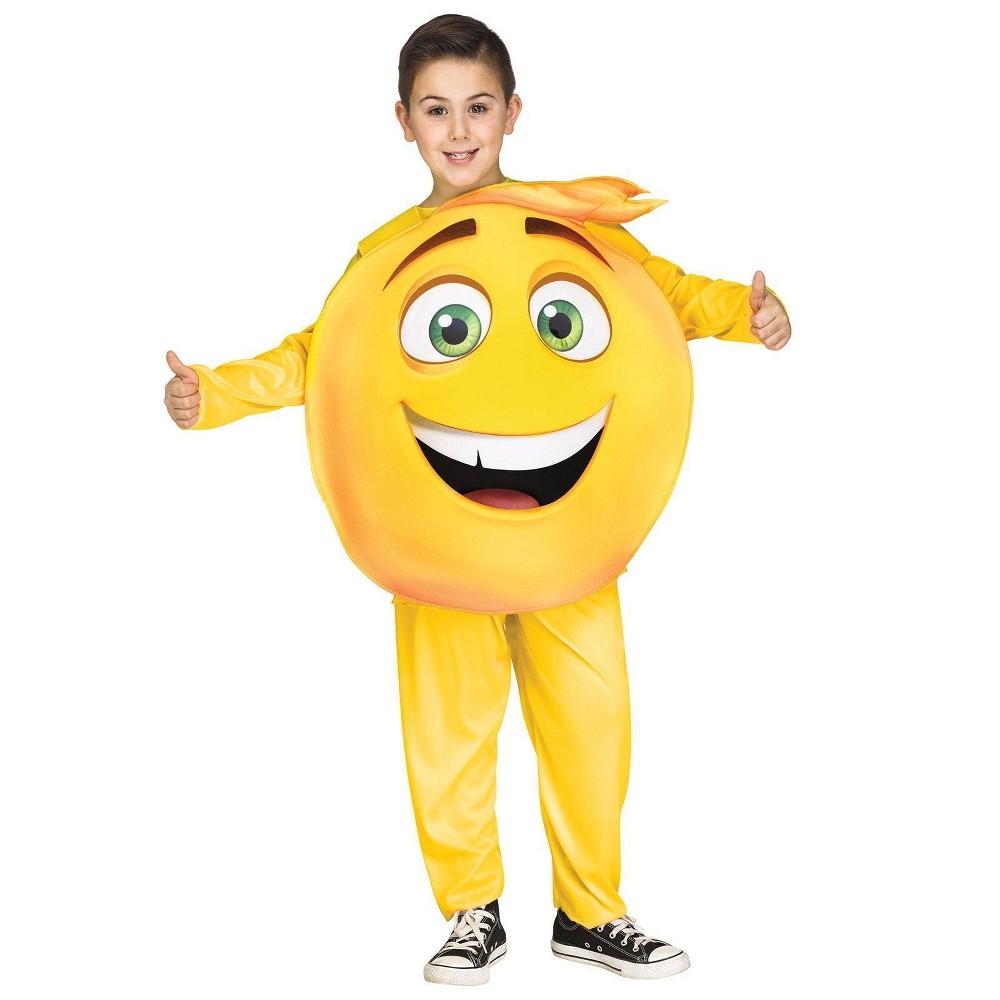 Fun World Kids' The Emoji Movie Gene Costume L, Kids Unisex, Multi-Colored