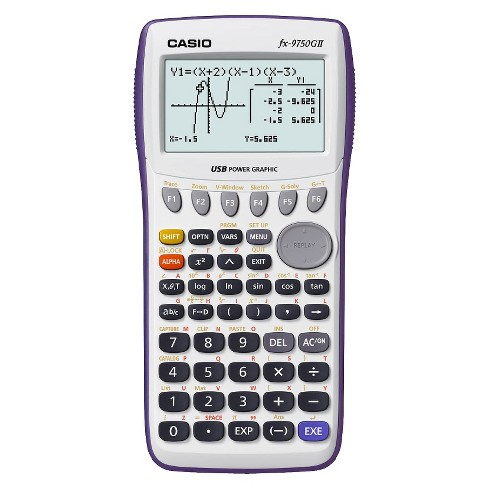 Casio fx-9750GII Graphing Calculator - image 1 of 2