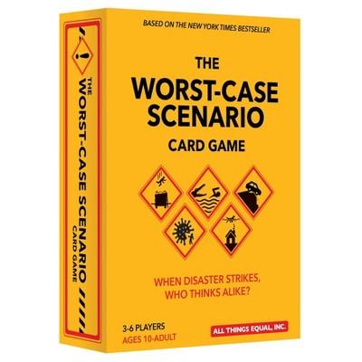 The Worst-Case Scenario Card Game