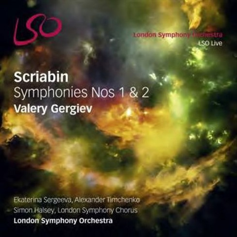 London symphony orch - Scriabin:Symphonies nos 1 & 2 (CD) - image 1 of 1