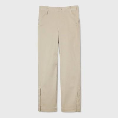 Boys' Adaptive Chino Pants - Cat & Jack™ Khaki