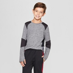 Boys' Novelty Pieced Long Sleeve T-Shirt - C9 Champion®