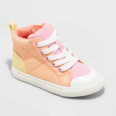 Toddler Girls' Octavia Zipper Apparel Sneakers - Cat & Jack™